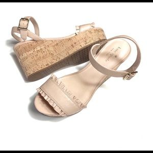 Sale!! New Kate Spade Tomas Leather Wedge